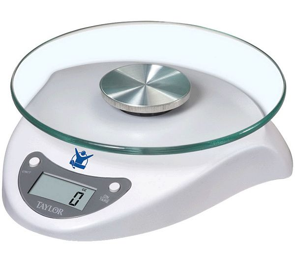 Keep track of your portions with this handy digital food scale. QVC.com
