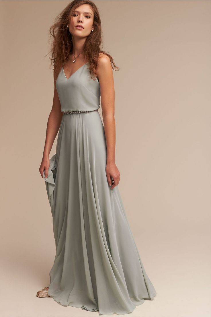 fresh | Inesse Dress in Morning Mist from BHLDN