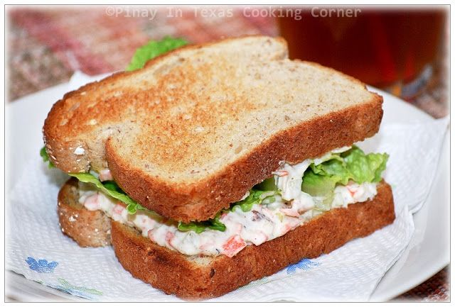 Pinay In Texas Cooking Corner: Filipino Style Chicken Sandwich Spread....plus more recipes