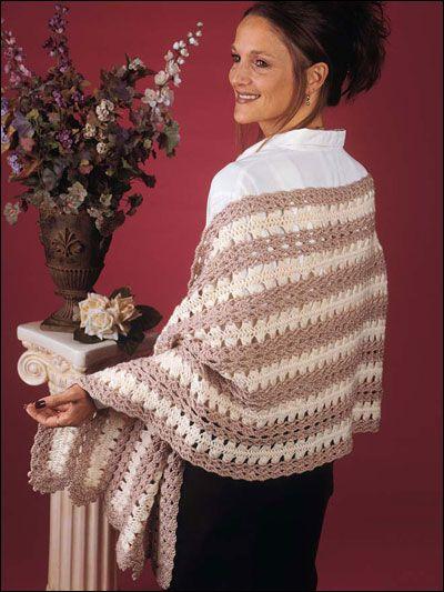Hairpin Lace Shawl pattern