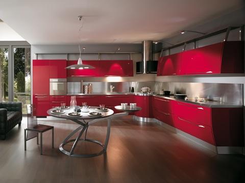 die besten 17 ideen zu küche rot hochglanz auf pinterest, Hause ideen