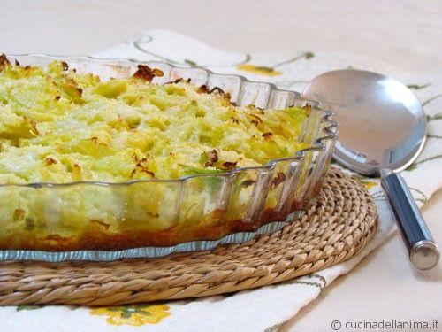 tortino di verza e patate