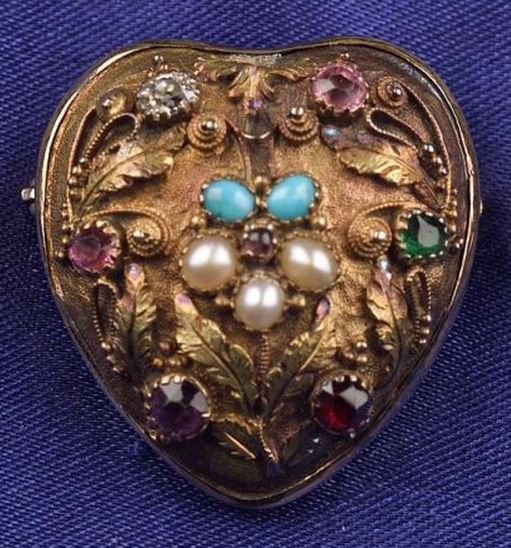 17 Best images about Victorian puffy padlock charm on ...