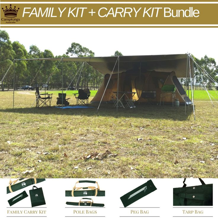 CampKings Australia - FAMILY KIT   FAMILY CARRY KIT, $648.00…