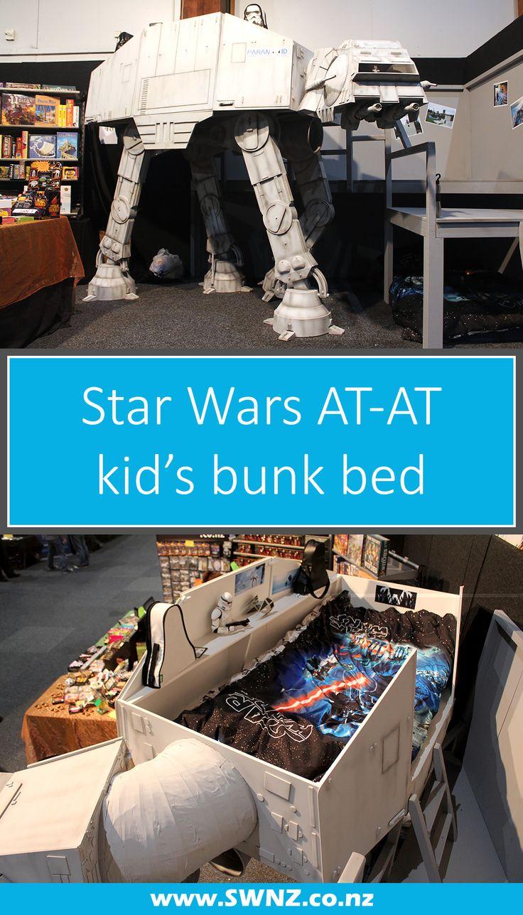 Star Wars AT-AT kids bunk bed home decor at SWNZ