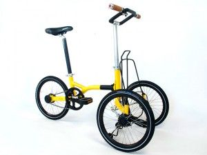 capsule folding bicycle