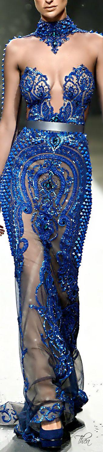 Ezra Couture SS 2014 #fashion #beautiful #pretty Please follow / repin my pinterest. Also visit my blog http://mutefashion.com/