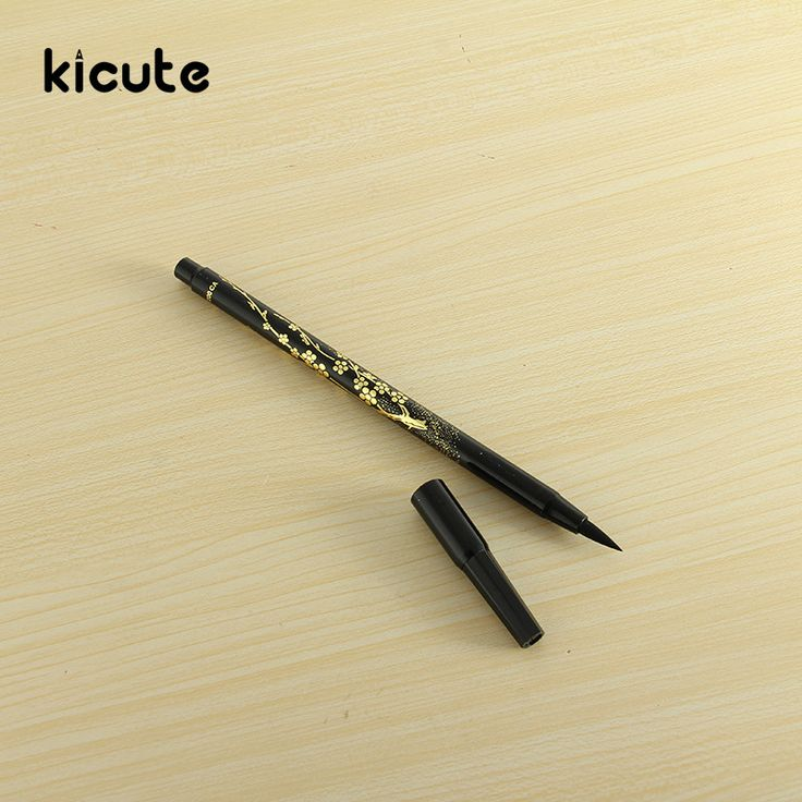 Kicute Soft Calligraphy Brush Pen Art Marker Black Ink Drawing Sketch Calligraphy Marker Pen Signature Writing Arts Supplies