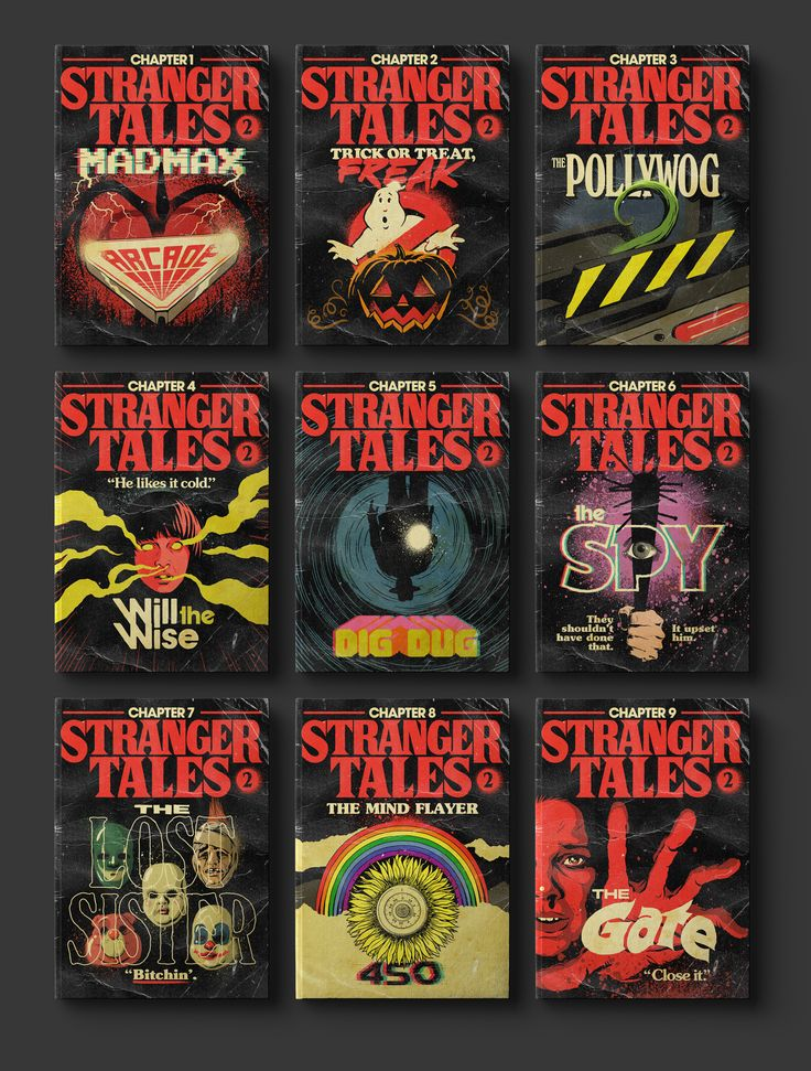 Der brasilianische Designer Butcher Billy hat für jede der Stranger Things 2 Episoden geniale Pulp Taschenbuch Covers gestaltet. Die sehen nicht nur gut aus, sondern greifen auch den Inhalt der jeweiligen Folge geschickt auf. Die einzelnen Cover in grosser Auflösung plus Stranger Things 2 Episoden als Atari Video Game Cartdriges und mehr Werke von Butcher …