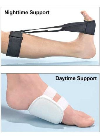 There are a number of treatment options for Plantar Fasciitis. From special orthotic devices and splints, to ...