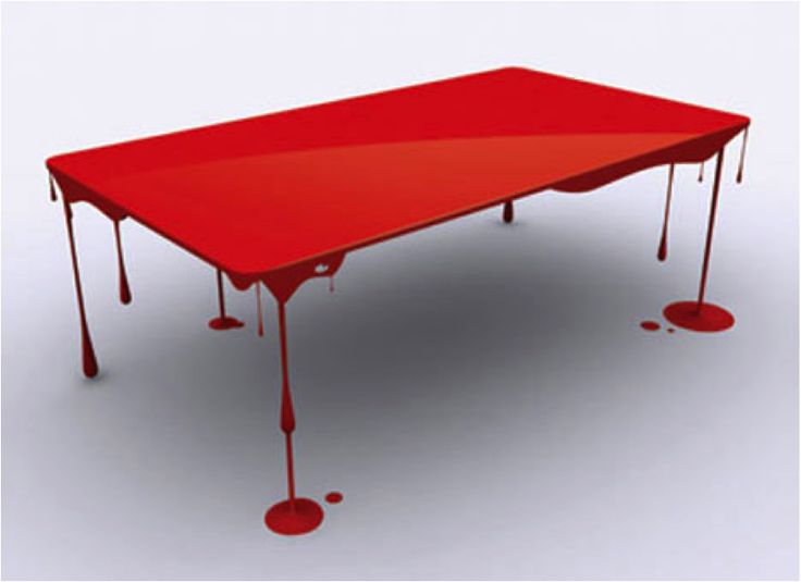 pop art splash table by john nouanesing furniture interior design pinterest pop art. Black Bedroom Furniture Sets. Home Design Ideas