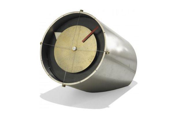 clock. industrial. nelson