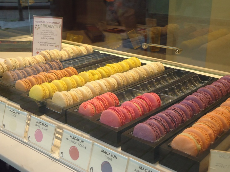 A few more macaroons in Ribeauvillé