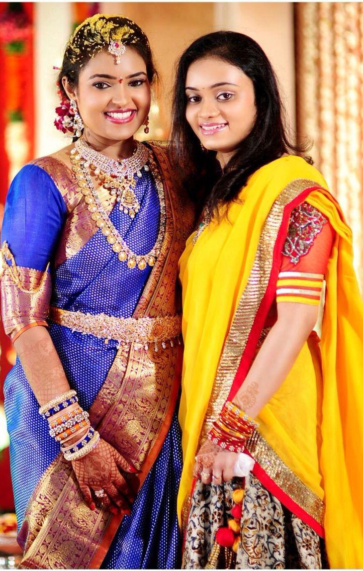 Bridal Jwelery On Pellikuthuru Function Telugu Bride