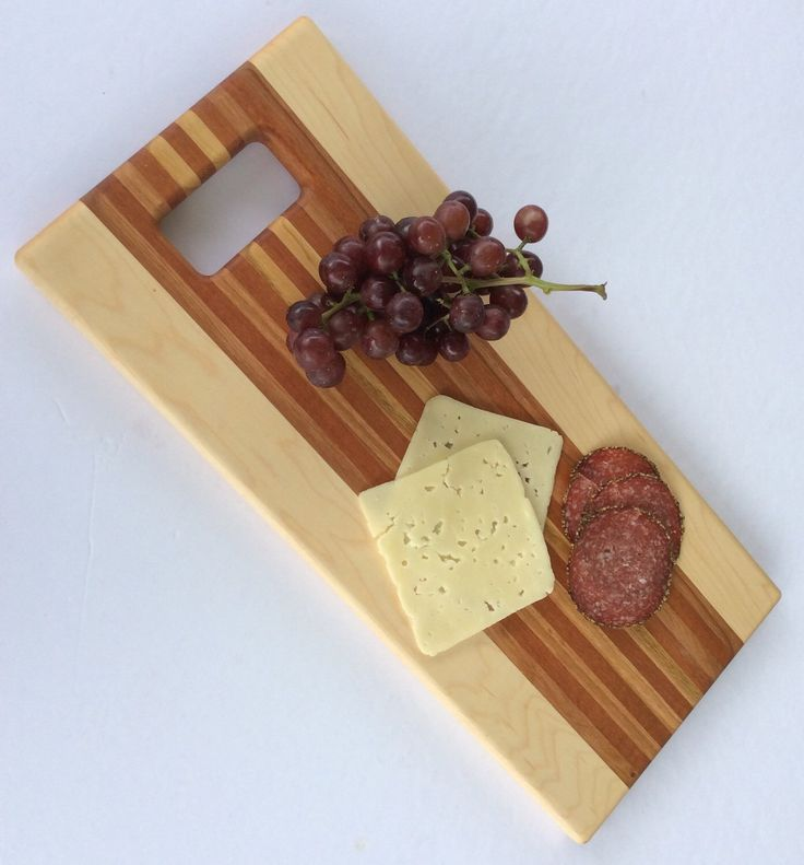 A personal favorite from my Etsy shop https://www.etsy.com/ca/listing/295167909/wood-serving-board-cheese-board-maple