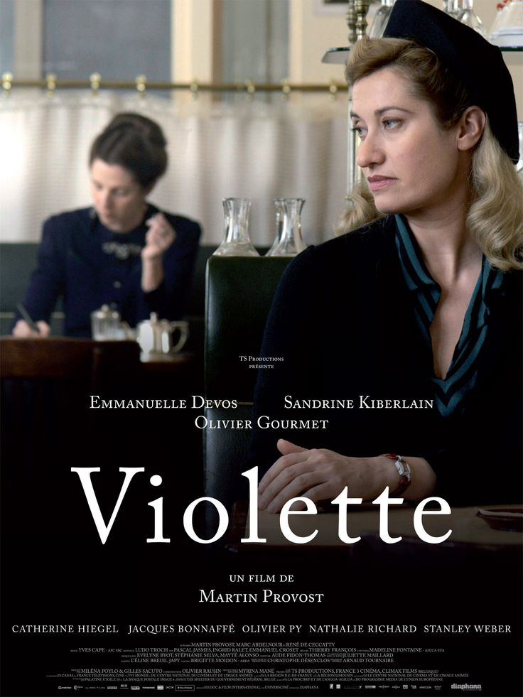Violette (2013) · #VioletteLeduc, born a bastard at the beginning of last century, meets #SimonedeBeauvoir in the years after the war in St-Germain-des-Prés. Then begins an intense relationship between the two women that will last throughout their lives, relationship based on the quest for freedom by writing to Violet and conviction for Simone to have in their hands the fate of an extraordinary writer. ·  Director: Martin Provost #film #cine #pelicula #cinema #writers #escritores