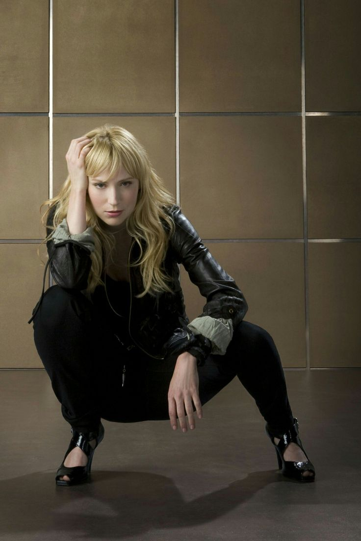 Beth Riesgraf as Parker (Leverage)