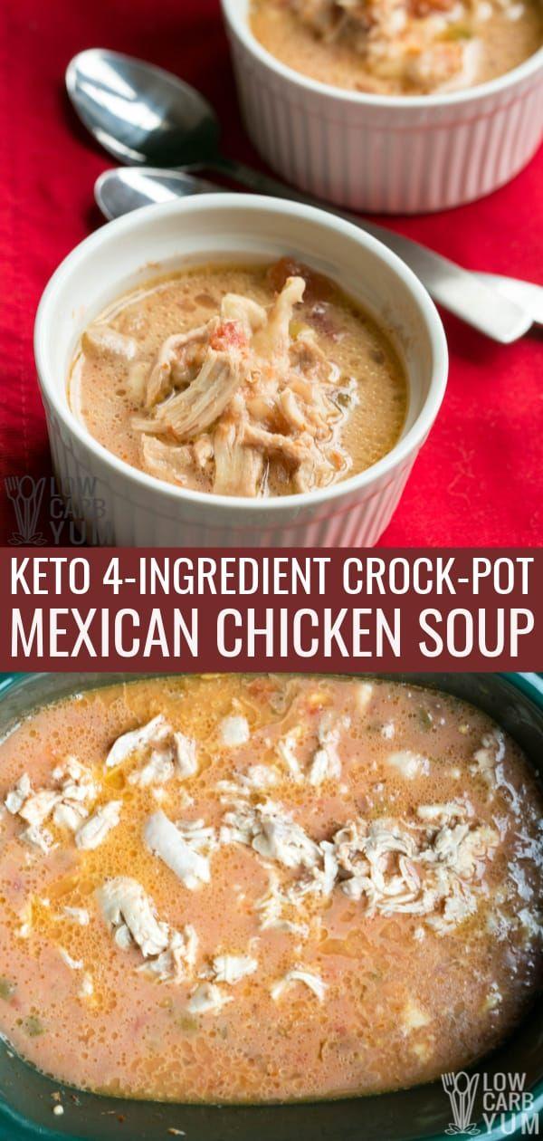 Ein einfaches mexikanisches Hühnchenrezept für den Crock Pot. Dieses mexikanische Hühnchen …