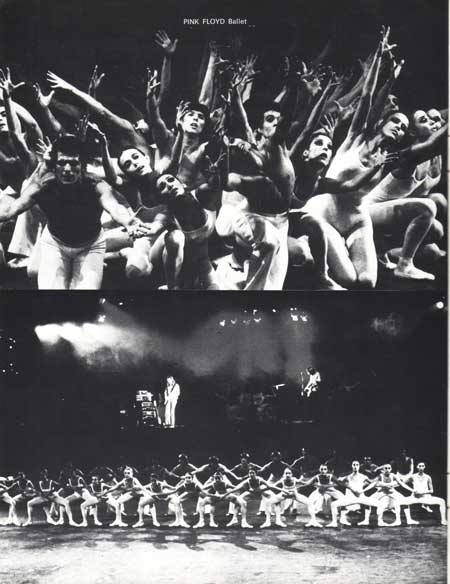 Pink Floyd - Roland Petit Ballet 72 Programme: 72 Programme, Floyd Concerts, Floyd Ballet, Concerts Pictures, Beautiful Art, Petite Ballet, Floyd Rog Water, Pictures Th Largest, Earthbound Misfits