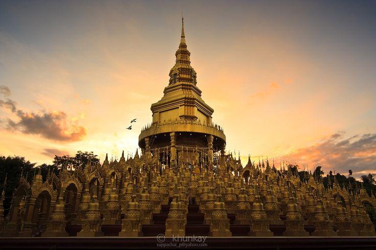 """Wat Pa Sawangboon"" located in Tambon Cha-Om, Amphoe KhaengKhoi, Saraburi."