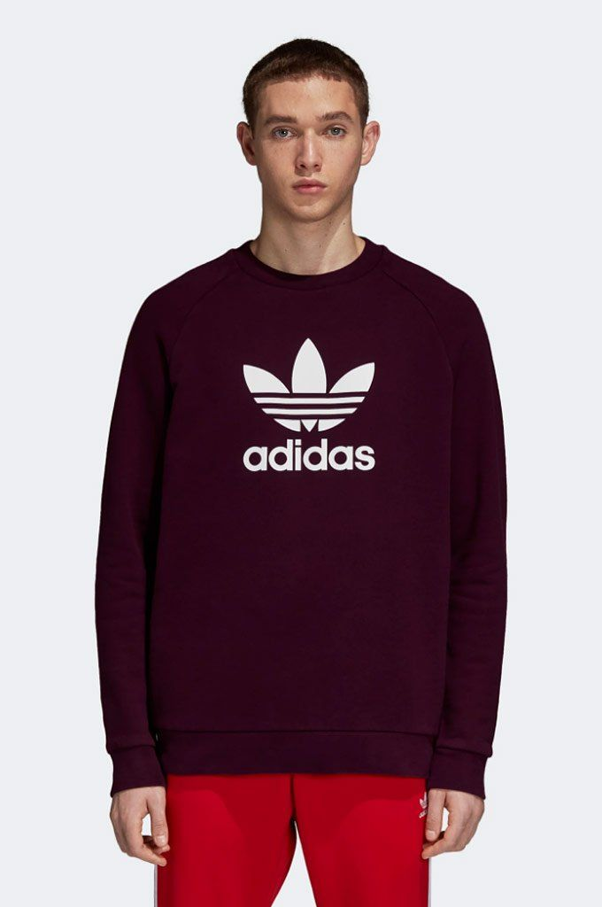 9d710018 #Adidas #Trefoil #Crewneck #Sweatshirt - A style statement since 1972, the  Trefoil stands for adidas heritage. This sweatshirt celebrates its iconic  style.