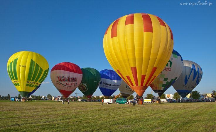 Start, Balonów