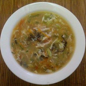 традиционный китайский кисло острый суп рецепт