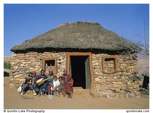 Basotho Hut, Lesotho