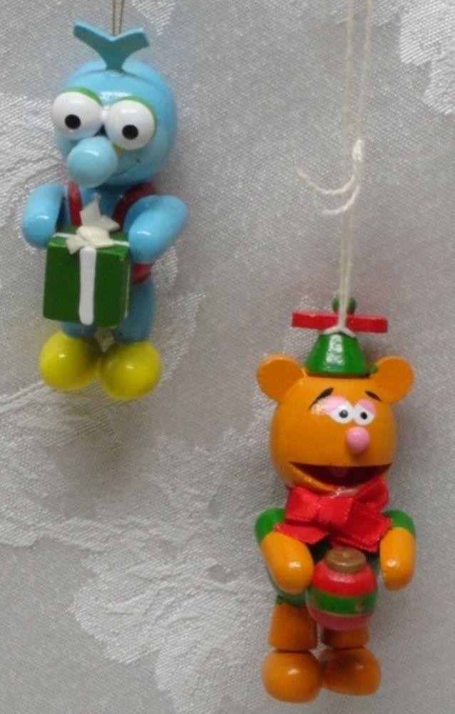 Muppet Babies Fozzie Bear   Gonzo Christmas Ornament 3