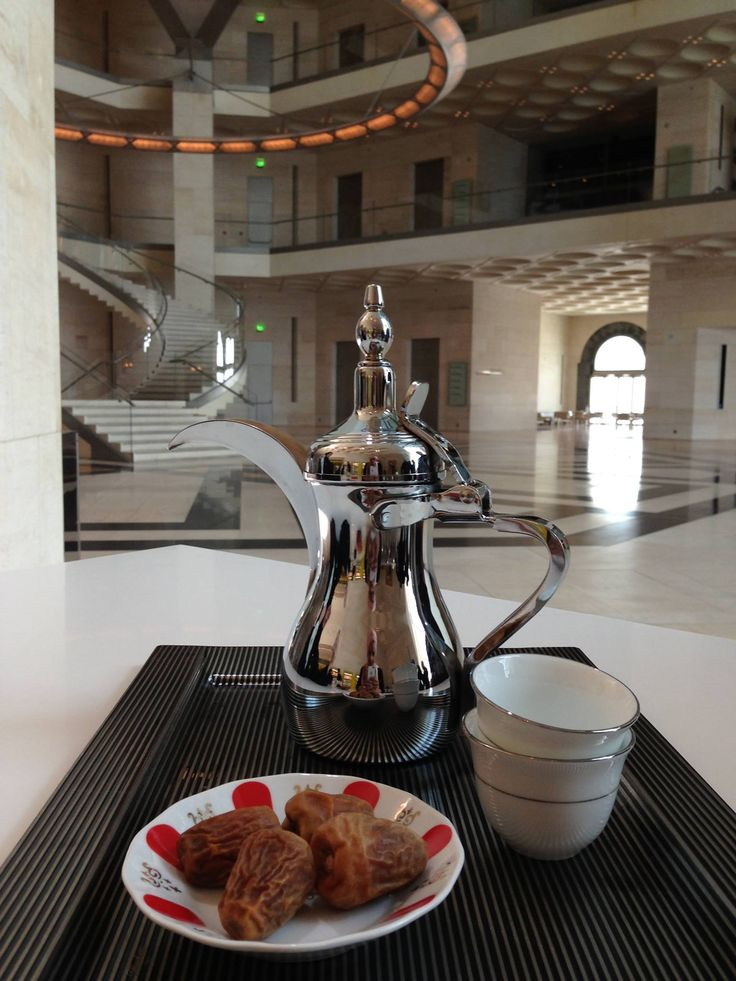 Qatar | Experience the Art of Arabic Coffee at MIA Café. credit: Museum of Islamic Art (MIA). view on Fb https://www.facebook.com/SinbadsQatarPocketGuide #Qatar #TravelToQatar #SinbadPocketGuide