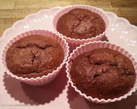 Chokladmuffins m Banan & Jordnötssmör