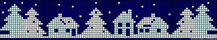 Free Winter Cross Stitch Pattern