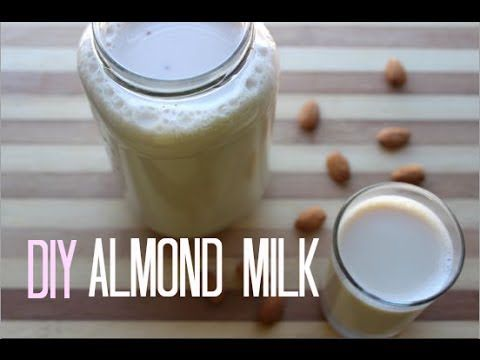 Easy DIY Almond Milk. Ive done this before Super easy...add 1/2 vanilla bean instead.