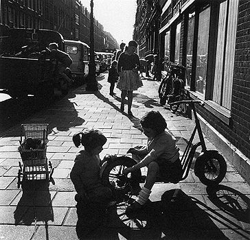 Netherlands. Children in Amsterdam, c. 1950 // Eva Besnyö
