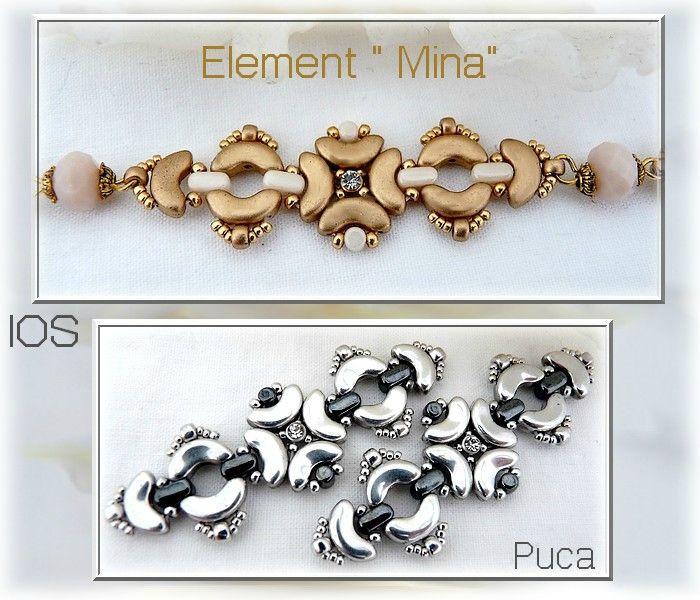 Voici les premiers créations réalisées avec les IOS® par Puca® :)