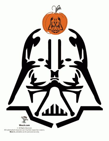 Easy Darth Vader Pumpkin Carving