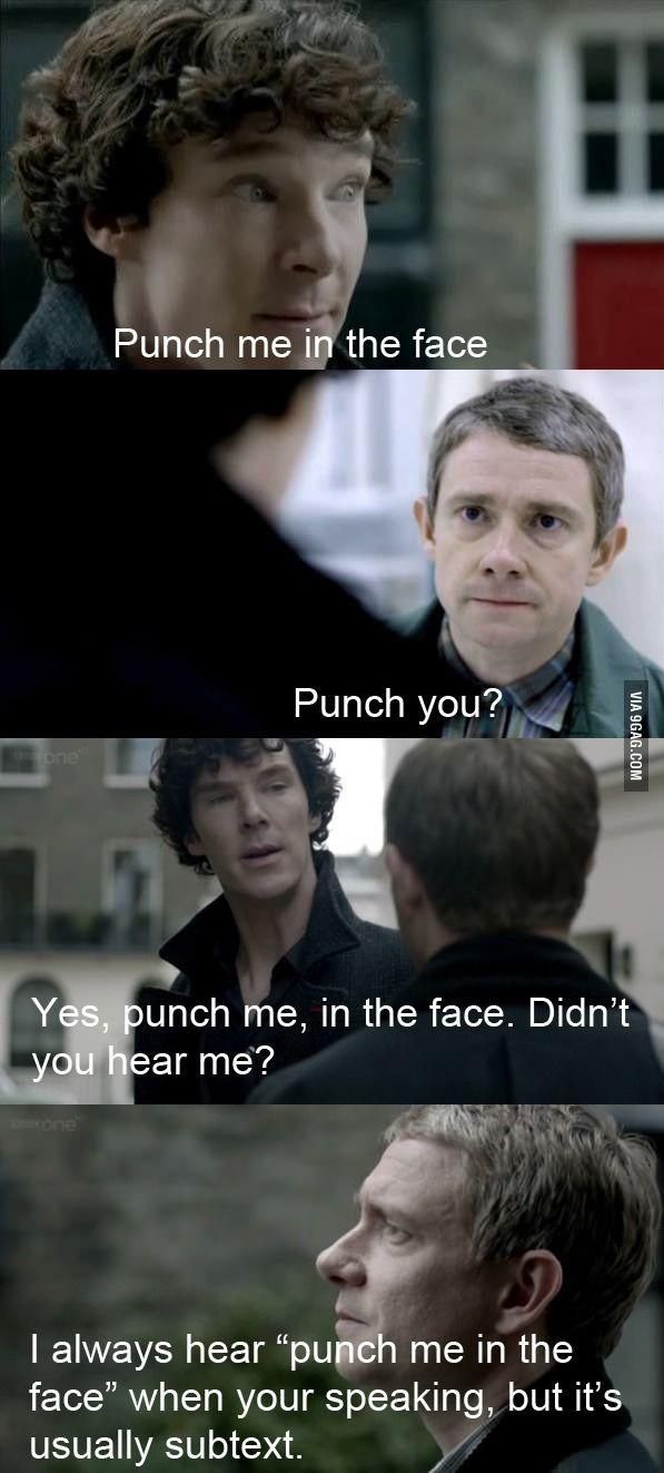 The inspiring friendship of Sherlock Holmes and John Watson.