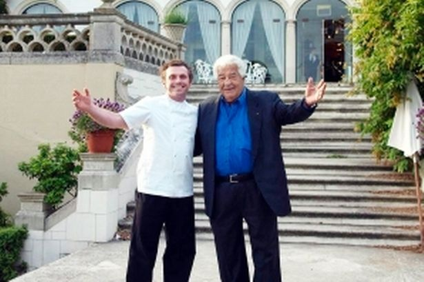 Artichoke fritters  Recipe part way down in article. Highly recommended.   Adam Simmonds and Antonio Carluccio outside Danesfield House where the Dine For Macmillan campaign was launched