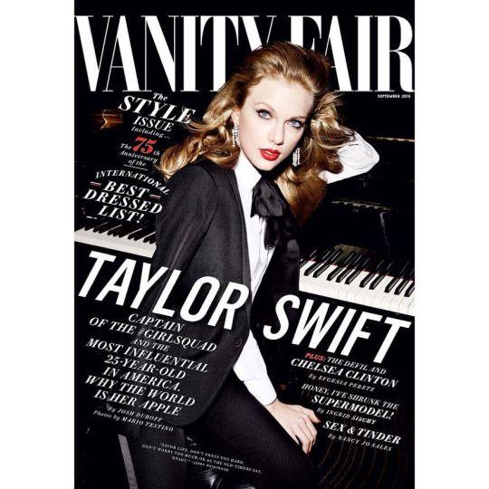 Taylor Swift's Vanity Fair cover!