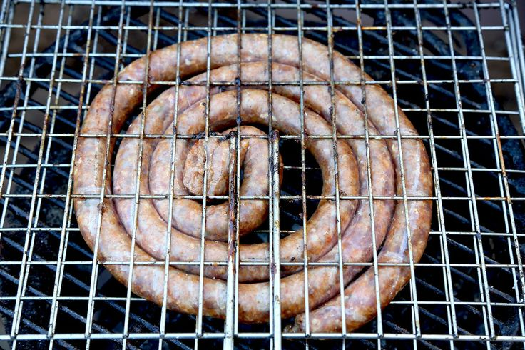 Not te be missed. Mozambican sausage. Actually it is from South Africa, boerewors. A Dutch heritage to South Africa. Boerenworst.