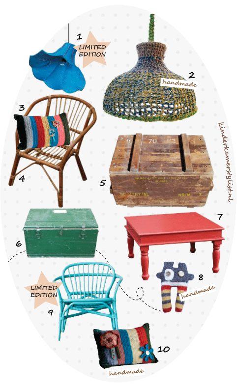 Kinderkamer decoratie / Limited Editions top 10