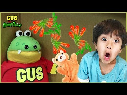 I MAILED MYSELF TO RYAN TOYS REVIEW and it worked! Gus goes to Ryan's House with Surprise Toys - YouTube