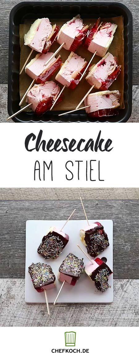Cheesecake am Stiel