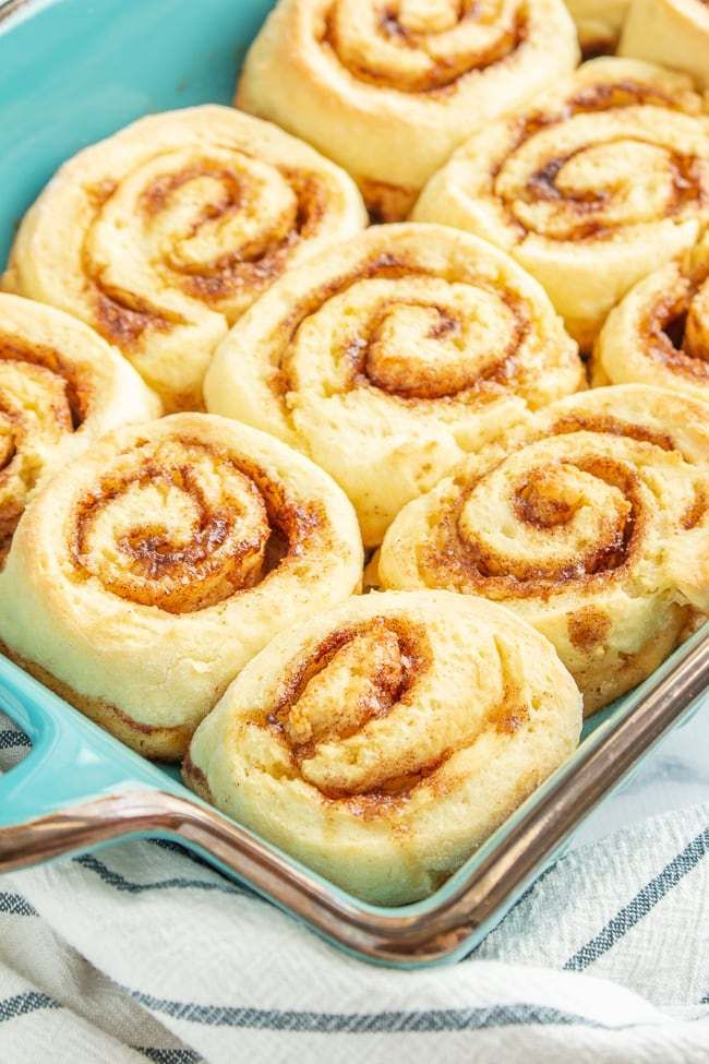 The BEST Gluten Free Cinnamon Rolls you'll ever eat! Soft and fluffy thanks to a…