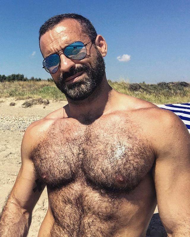 One more beach day is all I need! #Repost @suddenly_vin ・・・ Life is better at the beach  ___ #bearded #beard #beardedgay #gaybeard #gay #gayguy #gayman #gaymen #gaybear #beefybear #muscle #hairybear #gayhandsome #gayjock #hairyman #hairymen #furry #hairygay #hairychest #musclegay #fitgay #gaymuscle #musclemen #beastmode #gayfollow #hairyasfuck #swole #musclestud