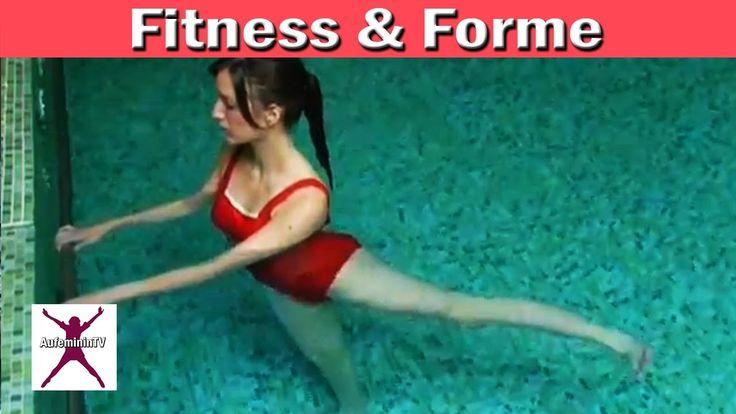 Muscler ses fesses : exercices pour les fessiers à l'Aquagym...