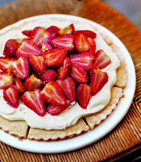 Strawberry Orange Shortcake
