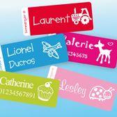 Étiquettes autocollantes| Étiquettes personnalisées | étiquettes Enfants, étiquettes - Bienmarquer