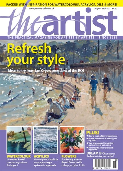 August 2017 The Artist. Buy online, http://www.painters-online.co.uk/