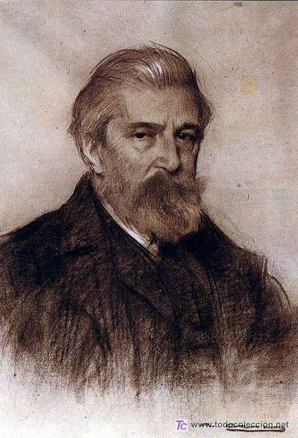Casas, Ramón (1866-1931) - Retrato del pintor Santiago Rusiñol (Museu Cau Ferrat de Sitges, España)